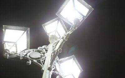 Alisea Esco S.A. has successfully renewed the renovation of the public lighting installations in laguna de Duero