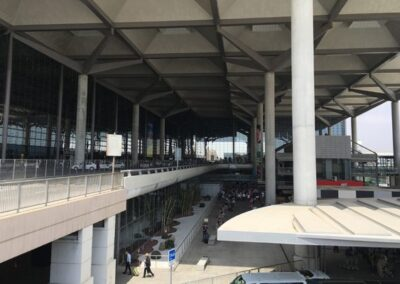 Installation of LED lighting at the airport