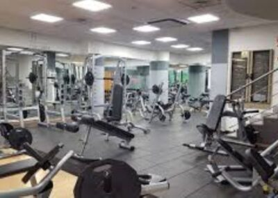 Replacement of the gymnasium chain lighting system