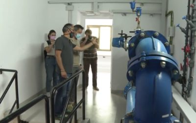 Andorra la Vella will save 23 tonnes of carbon dioxide a year with the new turbine at the Escaubelles water tank installed by Alisea