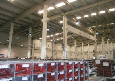 Iluminación industrial de LED's